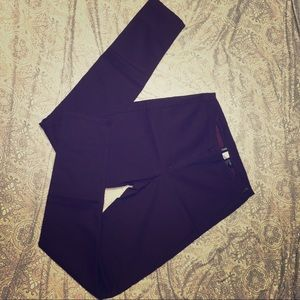 Divided H&M dark purple stretch skinny pants